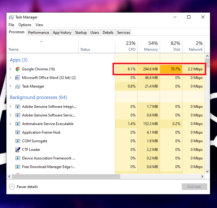 Free Up the Memory of your PC