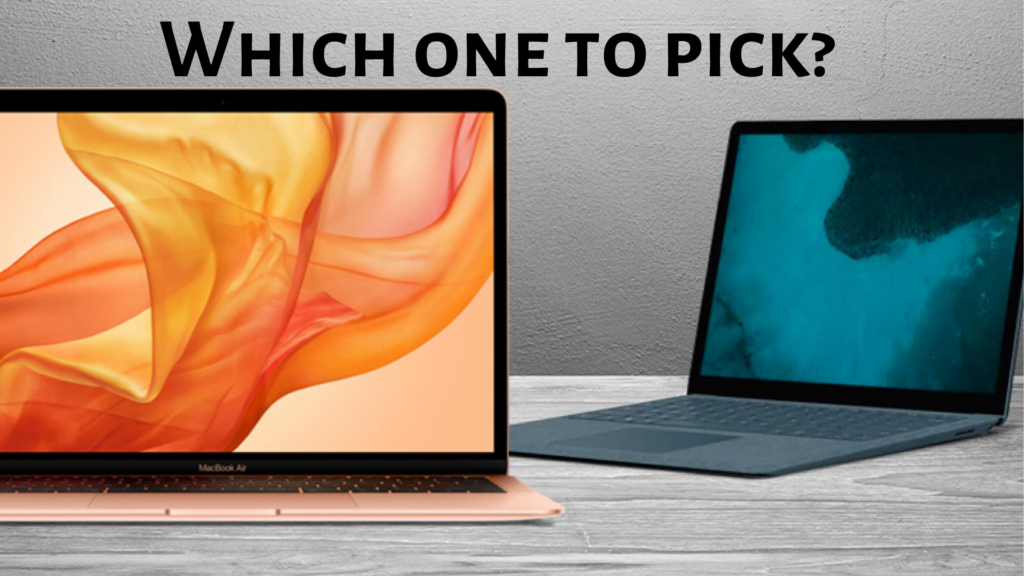 which one should you go with? Laptop or MacBook?