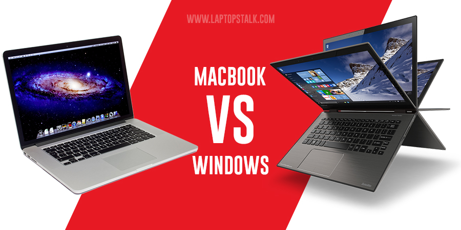 What is the difference between Laptop and MacBook?
