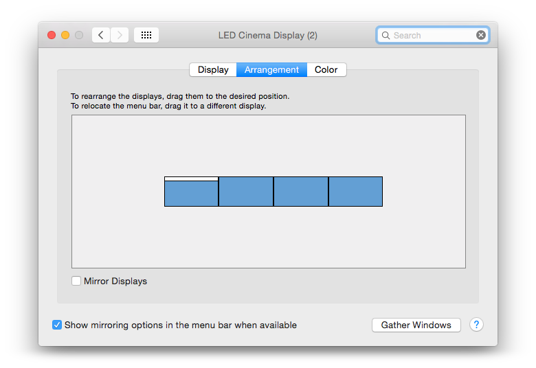 How to display MacBook screen to a TV