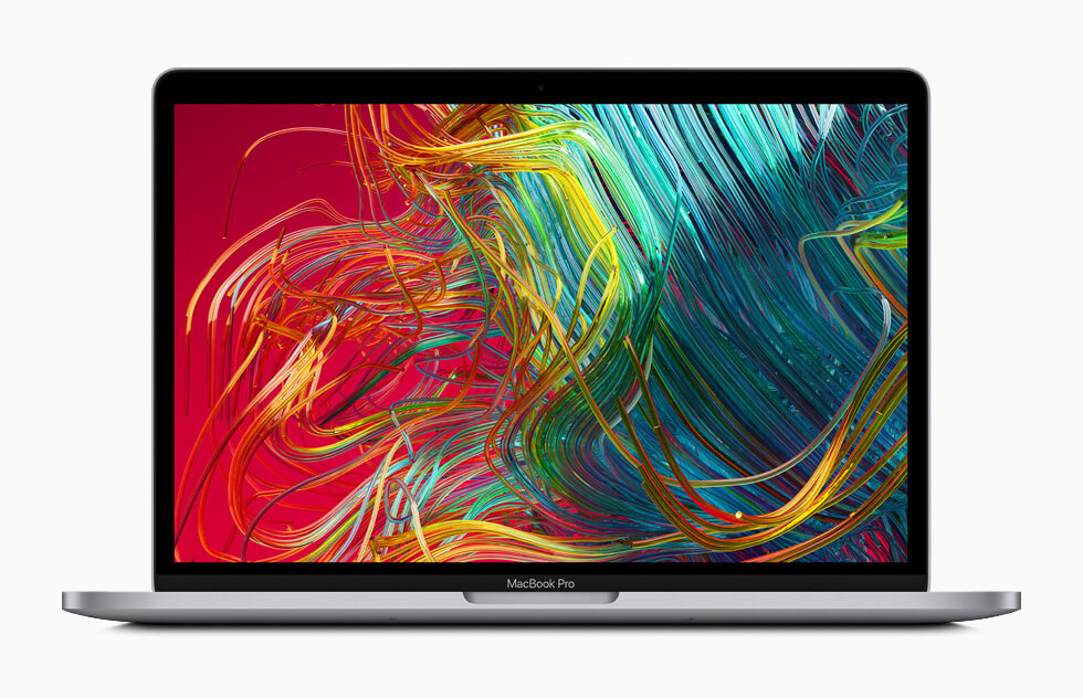 Design and the looks of the Macbook Pro 2020