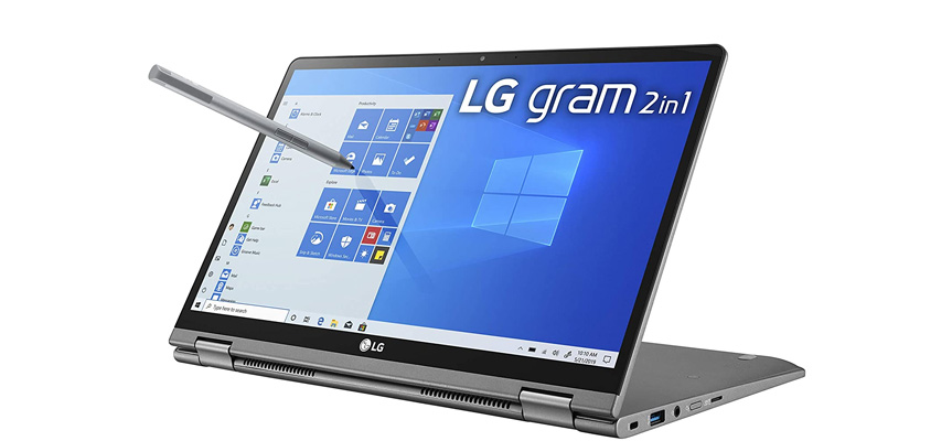 LG Gram 2-in-1 Convertible Laptop